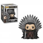 Figurina Pop Deluxe Got S10 Jon Snow On Iron Throne
