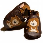 Pantofi cu talpa moale Liliputi Protector Lions M 12,6 cm
