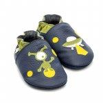 Pantofi cu talpa moale Liliputi Ufo M 12,6 cm