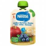 Piure Nestle cu mere afine si banane 90g  de la 6 luni