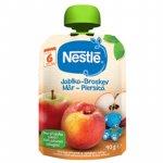 Piure Nestle cu mere si piersici 90g  de la 6 luni