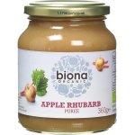 Piure de mere si rubarba eco 360g Biona