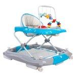 Premergator Sun Baby Pisicuta 021 cu functie de balansoar Blue Grey