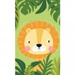 Prosop fata Lion 30x50 cm SunCity