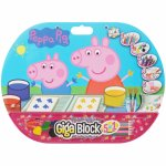 Set pentru desen 5 in1 gigablock Peppa Pig