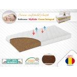 Saltea fibra de Cocos Integral 140x70x10 husa bumbac matlasat