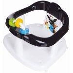 Scaun de baie pentru bebelusi cu jucarii Bing alb cu negru