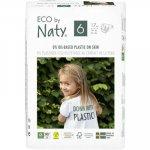 Scutece 17 buc marimea 6 ECO by Naty 16+kg