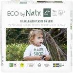 Scutece 24 buc marimea 4+ ECO by Naty 9-20 kg