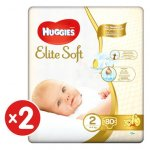 Scutece Huggies Elite Soft 2 4-6 kg 160 buc
