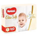 Scutece Huggies Elite Soft 3 5-9 kg 160 buc
