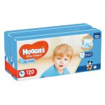 Scutece Huggies Ultra Comfort Virtual Pack 4+ Boy 10-16 kg 120 buc