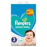 Scutece Pampers Active Baby Mega Box Marimea 3, 6 -10 kg  152 buc