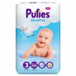 Scutece Pufies Sensitive 3 Midi  Maxi Pack 6-10 kg 66 buc