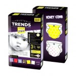 Scutece Pufies Trusted Trends 3 Midi Duo Pack Honey Comb Baby 4-9 kg 120 buc