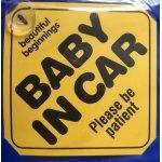 Semn de avertizare Baby in Car Cangaroo
