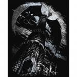 Set gravura pe folie argintie Turnul dragonului