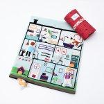 Set joaca portabil Tiny Magic Clinica veterinara cu 5 personaje incluse