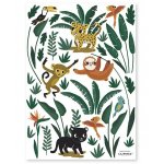 Sticker A3 Jungle Animals