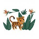 Sticker special size Jungle&Tiger