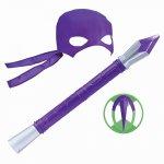 Testoasele Ninja joc de rol Donatello cu accesorii
