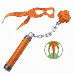 Testoasele Ninja joc de rol Michelangelo cu accesorii