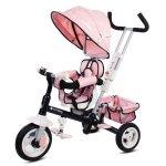 Tricicleta cu sezut reversibil Sun Baby 002 Super Trike Plus Pink