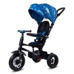 Tricicleta pliabila cu roti gonflabile Sun Baby 014 Qplay Rito Blue Ufo