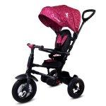Tricicleta pliabila cu roti gonflabile Sun Baby 014 Qplay Rito Purple Unicorn