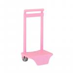 Troler mic pentru ghiozdan Roz