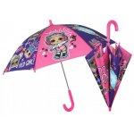 Umbrela manuala 42 cm cu inchidere cu siguranta LOL Surprise