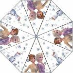 Umbrela transparenta Frozen 2 diametru 76 cm SunCity