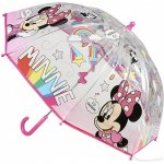 Umbrela transparenta Minnie diametru 66 cm SunCity