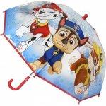 Umbrela transparenta Paw Patrol diametru 66 cm SunCity