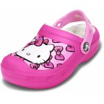 Slapi Crocs CC Hello Kitty Bow Lined Clog Neon Magenta 24 (149 mm - C8)