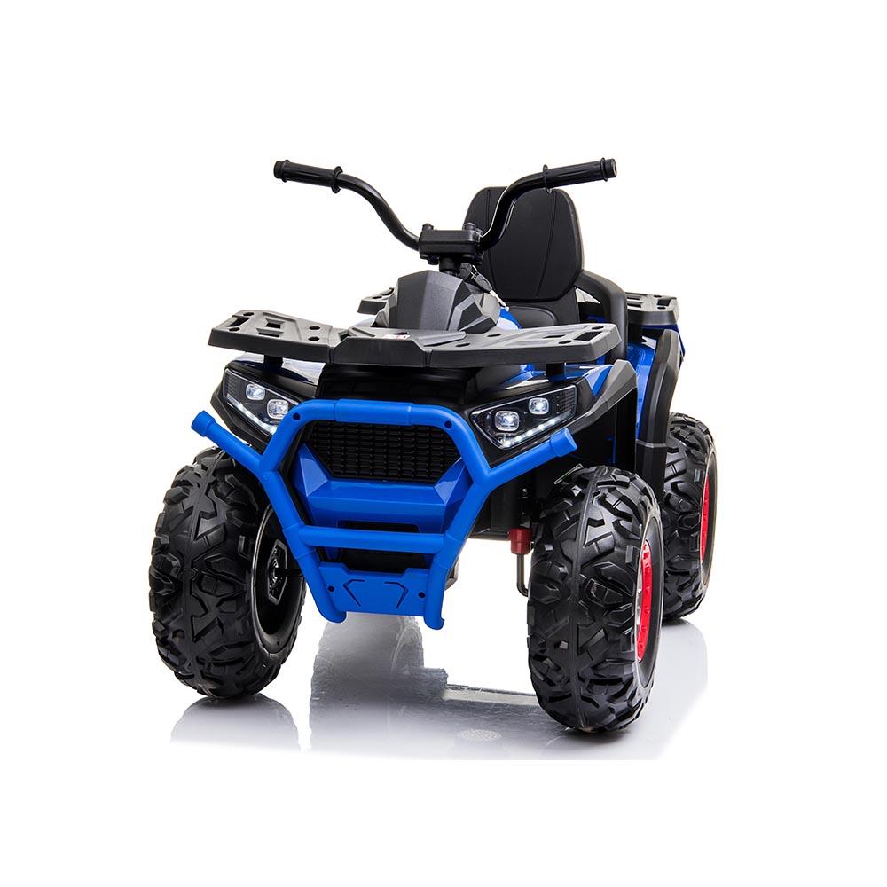 Atv electric 12V cu roti EVA si lumini Buggy Desert Painted Blue