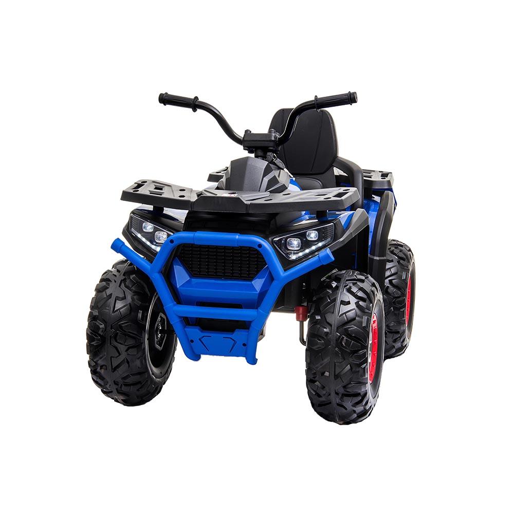 Atv electric 12V cu roti EVA si lumini Buggy Desert Painted Blue - 1