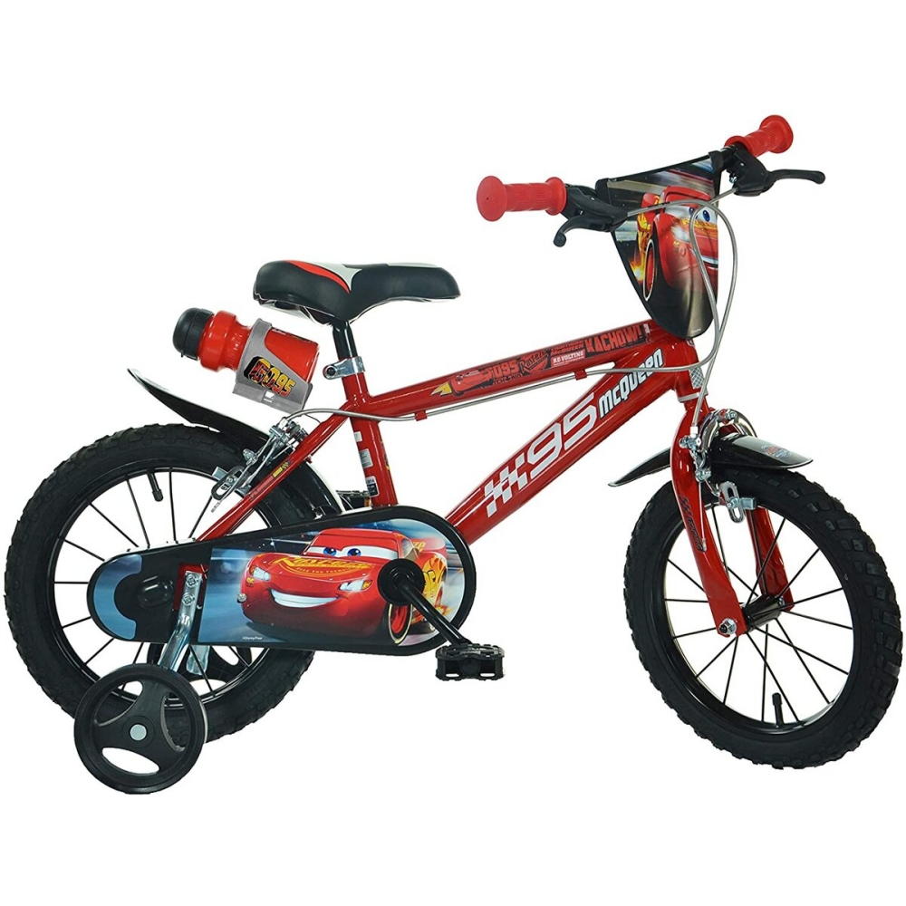 Bicicleta Cars 3 Dino Bikes 14 imagine