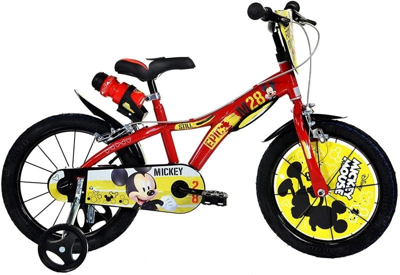 Bicicleta Mickey Mouse 16 Dino Bikes 616MY