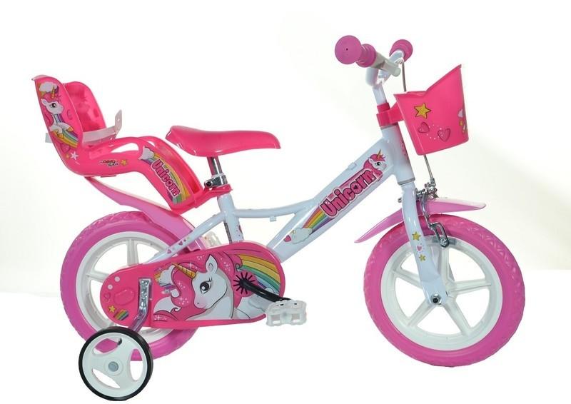 Bicicleta Unicorn 12 Dino Bikes 124UN