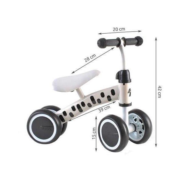 Bicicleta fara pedale cu 4 roti Kruzzel MY2861