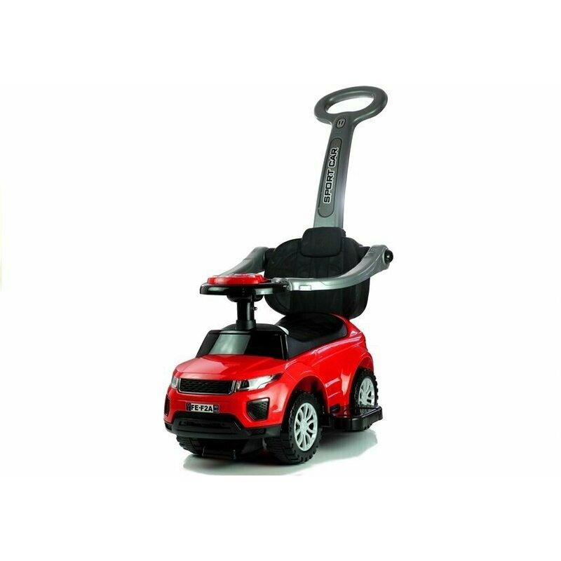 Masinuta de impins 614W rosu Lean Toys