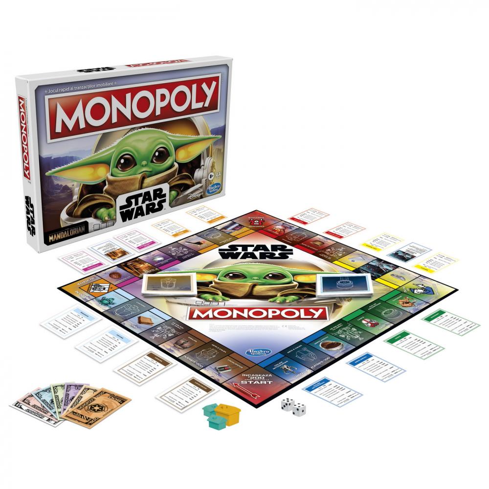 Monopoly the child baby yoda