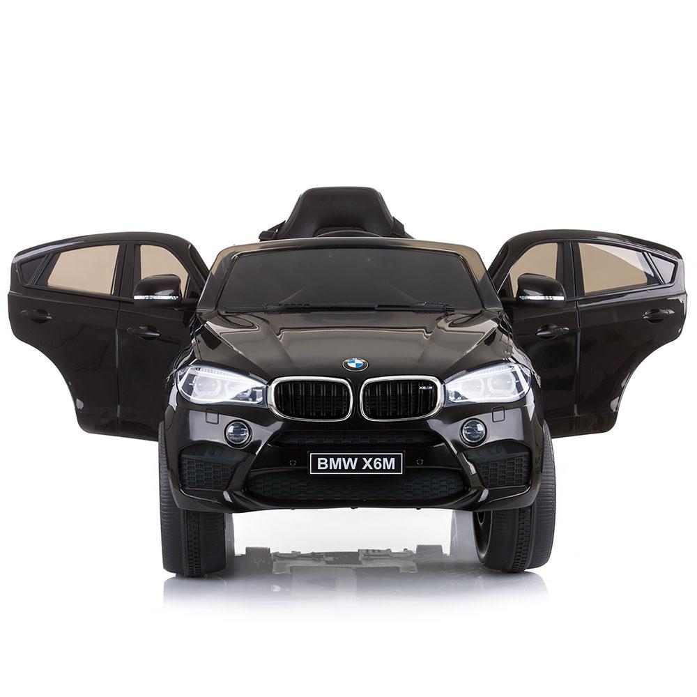 Masinuta electrica Chipolino BMW X6 black cu roti Eva