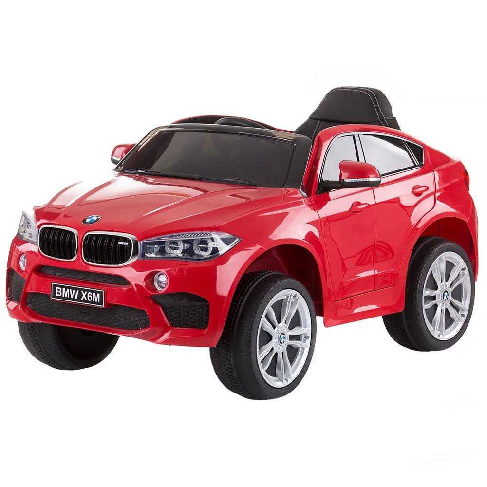 Masinuta electrica Chipolino BMW X6 red cu roti Eva - 7