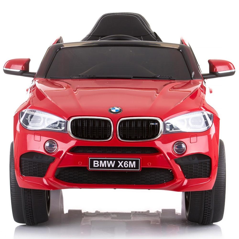 Masinuta electrica Chipolino BMW X6 red cu roti Eva - 1