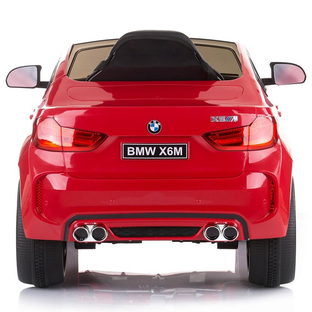 Masinuta electrica Chipolino BMW X6 red cu roti Eva - 2