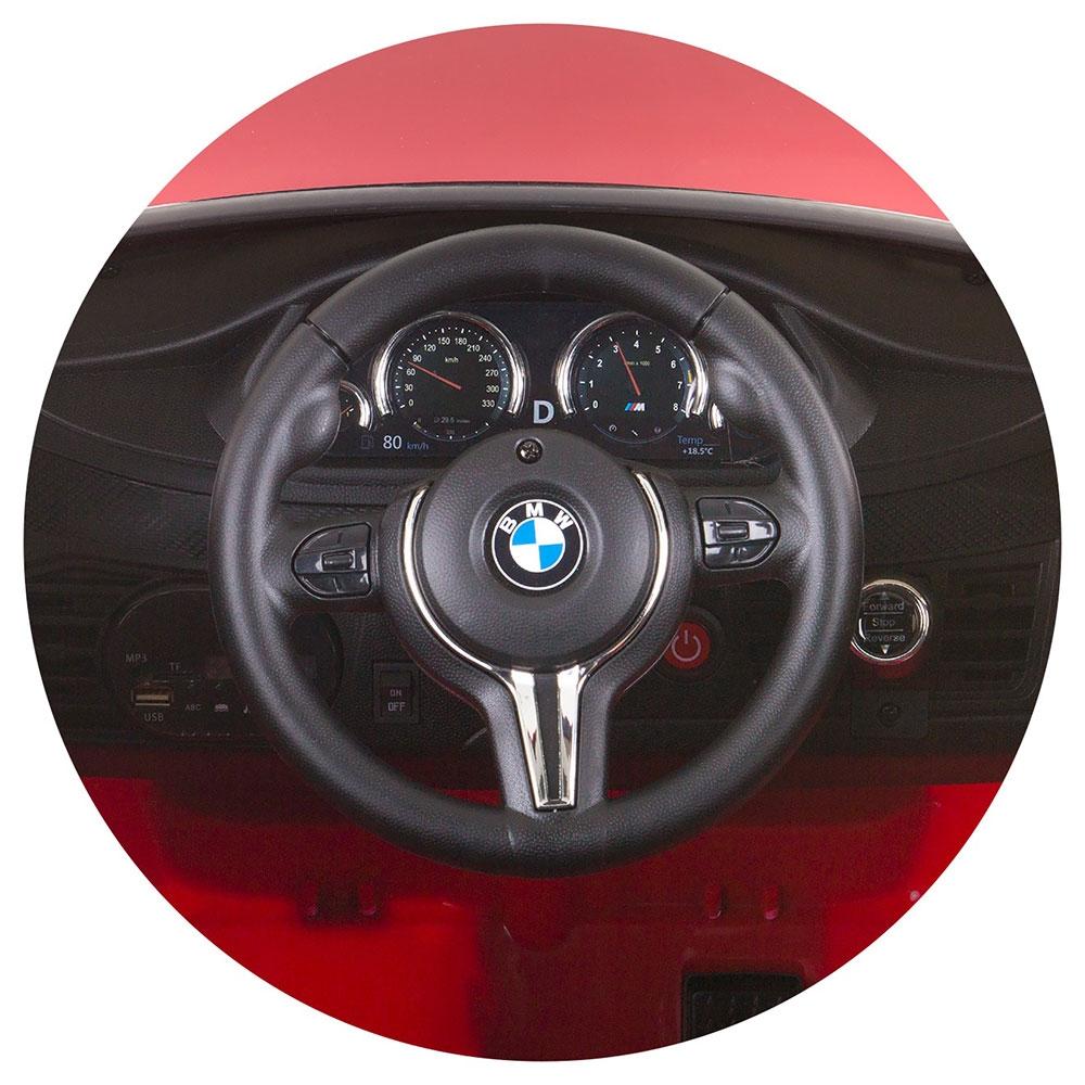 Masinuta electrica Chipolino BMW X6 red cu roti Eva - 5