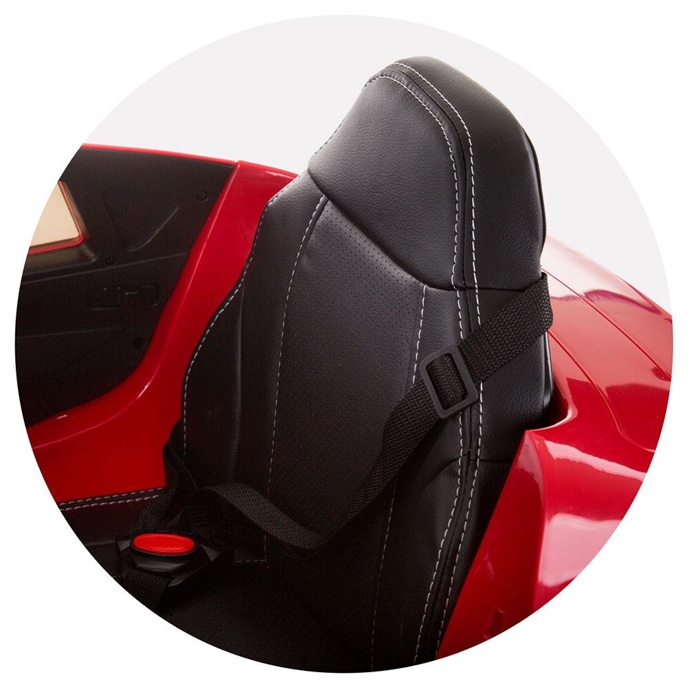 Masinuta electrica Chipolino BMW X6 red cu roti Eva - 6