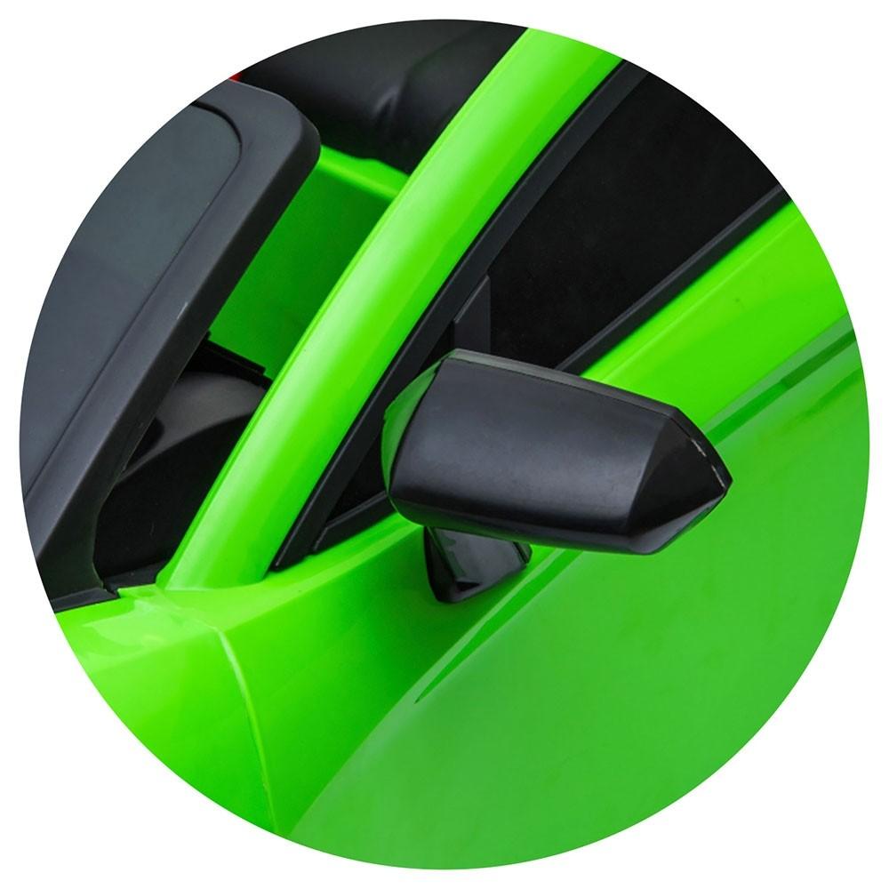 Masinuta electrica Chipolino Lamborghini Aventador SVJ green cu roti Eva - 8